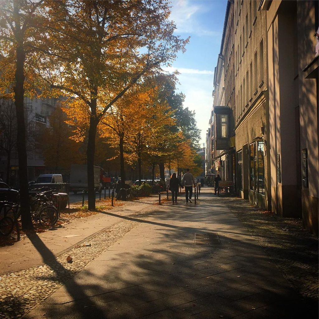 Berlin Mitte Autumn Brunnenstrasse