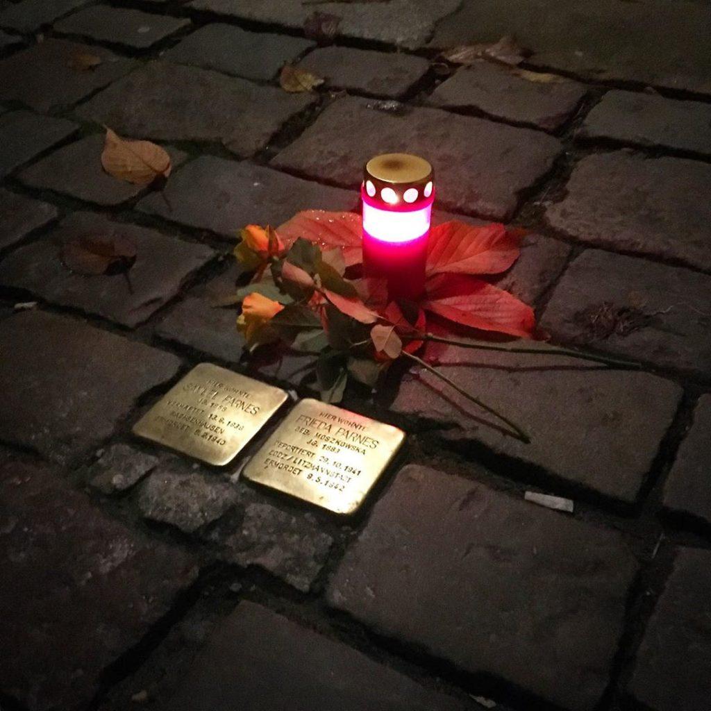 Berlin November 9 Stolpersteine