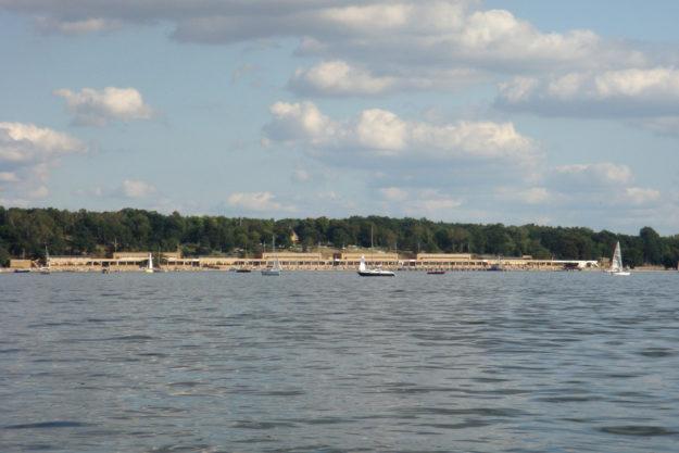 Berlin lakes: Strandbad Wannsee bathing beach lido
