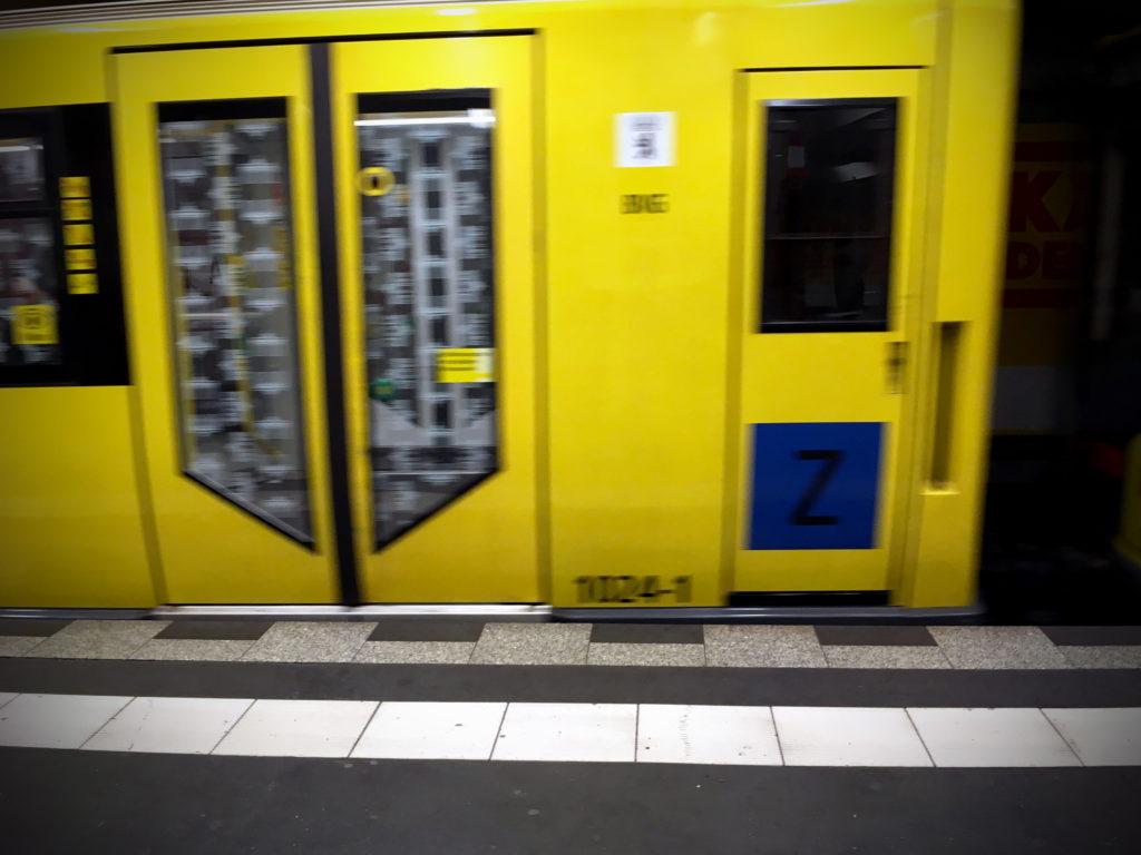 Berliner U-Bahn - Taschendiebstahl nimmt zu