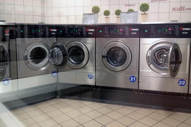 Berlin: Waschcenter und Waschsalons