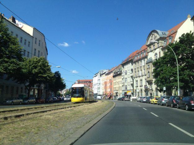 Torstrasse in Berlin-Mitte