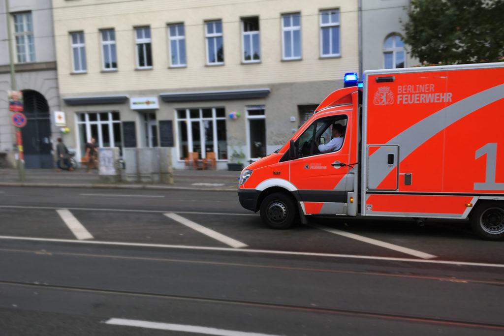 Berlin Verkehrsunfall-Statistik