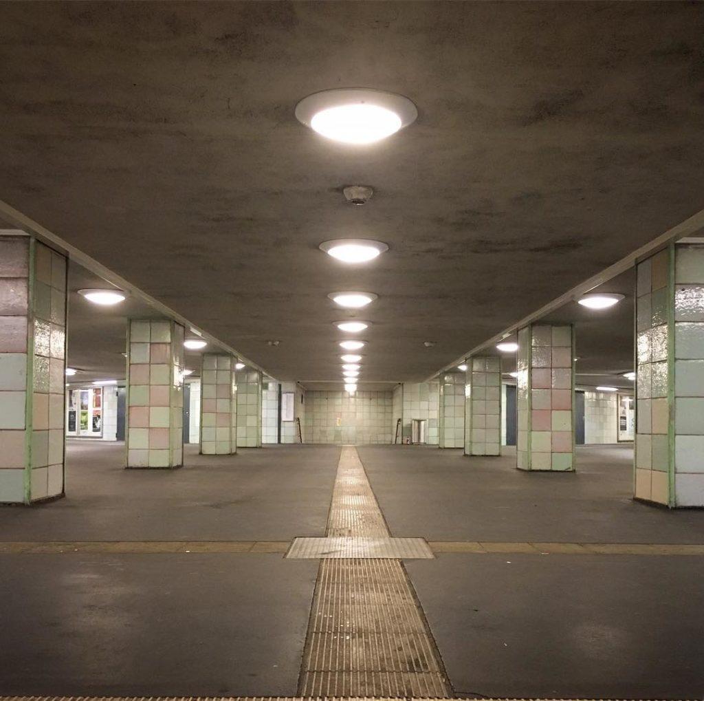 Berlin Kreuzberg Moritzplatz U-Bahnhof