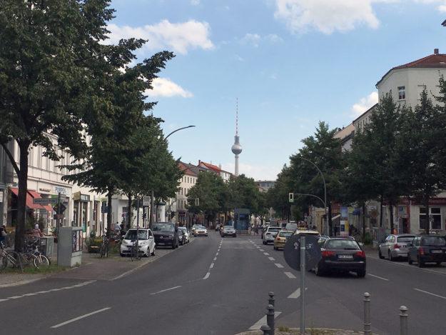 Berlin Brunnenstrasse -Fernsehturm