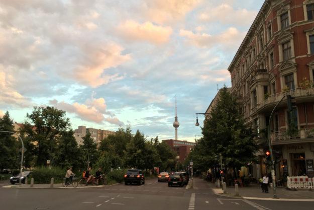 Fernsehturm Berlin Schoenhauser Allee