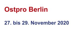 Ostpro Berlin 2020