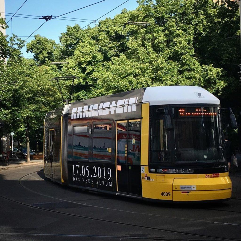 Rammstein Tram Berlin