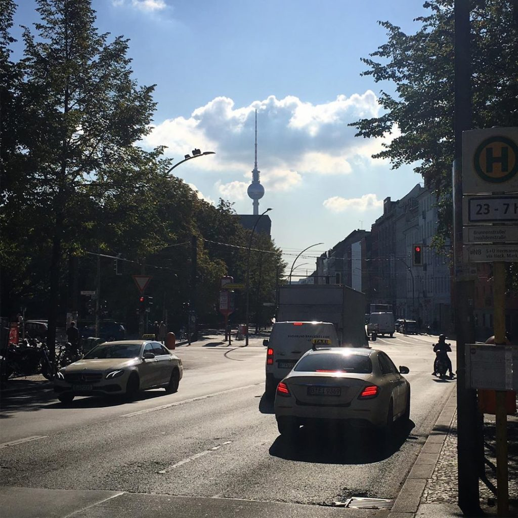 TV-Tower Brunnenstrasse Berlin
