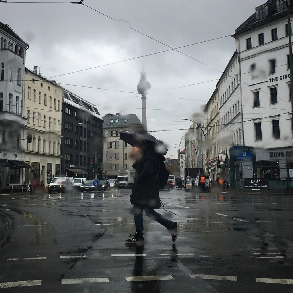Berlin rainy days
