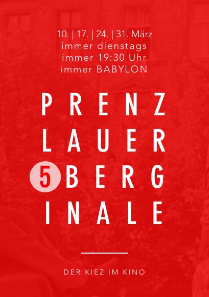 Prenzlauerberginale Berlin 2020