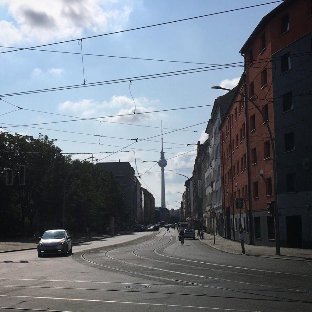 Brunnenstrasse Fernsehturm