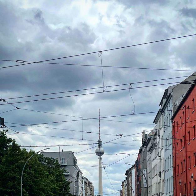 Berlin Fernsehturm Brunnenstrasse
