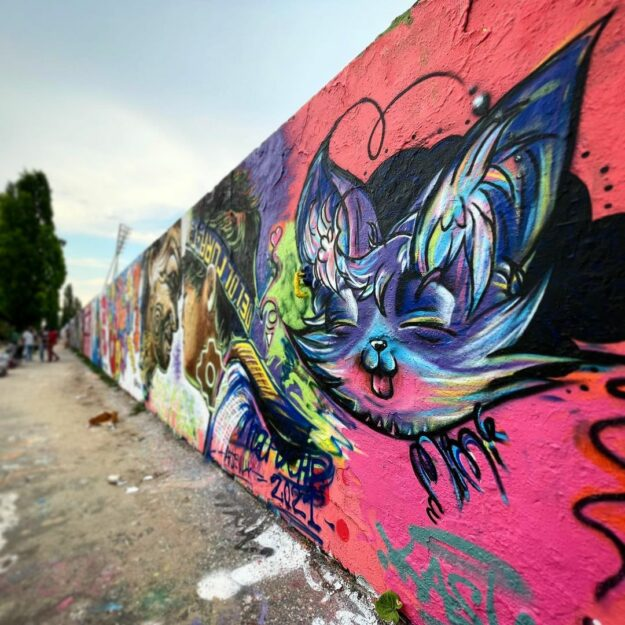 Berlin Mauerpark Graffiti